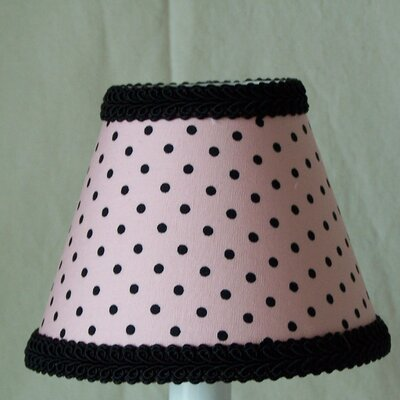 Paris Polka Dot 11 Fabric Empire Lamp Shade
