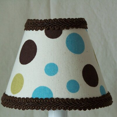 Dots in Color 11 Fabric Empire Lamp Shade