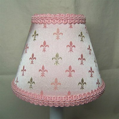 Prince William 5 Fabric Empire Candelabra Shade Color: Pink