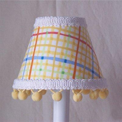 Fun Primary 5 Fabric Empire Candelabra Shade