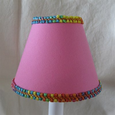 Skittle Skadattle 5 Fabric Empire Candelabra Shade