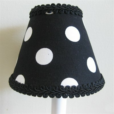 Licorice Sticks 5 Fabric Empire Candelabra Shade