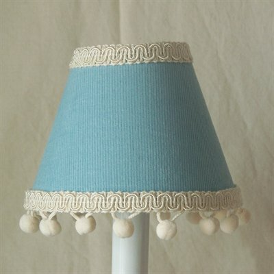 Teddy in Overalls 11 Fabric Empire Lamp Shade