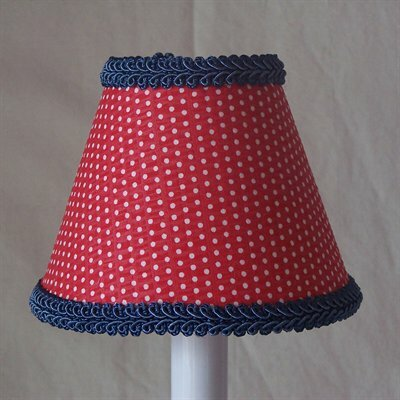 Round-Up Red 11 Fabric Empire Lamp Shade