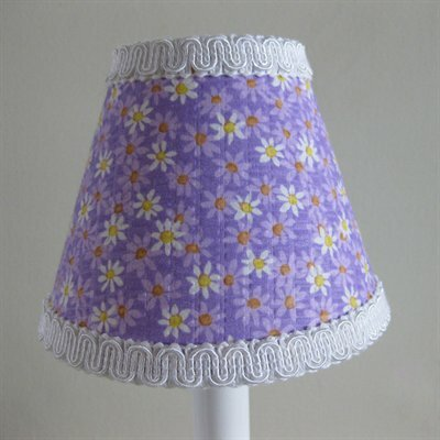 Dancing Daisies 11 Fabric Empire Lamp Shade