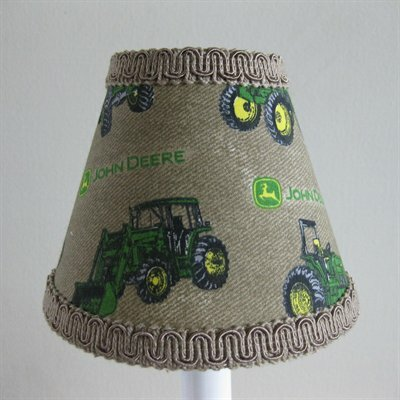 Deere 5 Fabric Empire Candelabra Shade