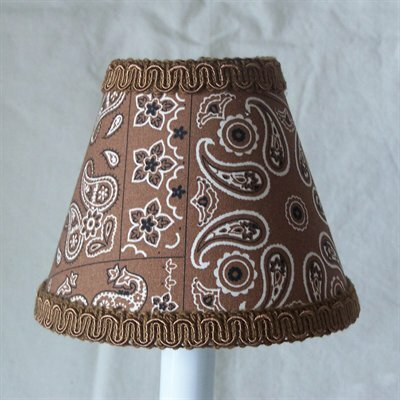 Cowboy Sheriff 11 Fabric Empire Lamp Shade