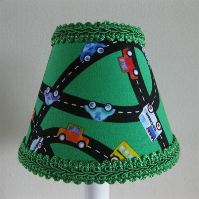 Beep Beep 5 Fabric Empire Candelabra Shade