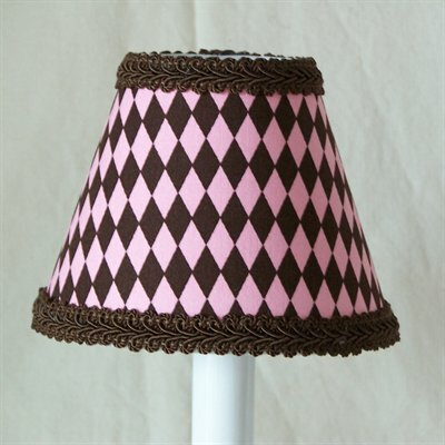 Frosted Brownies 5 Fabric Empire Candelabra Shade