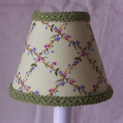 Flower Fantasy 11 Fabric Empire Lamp Shade