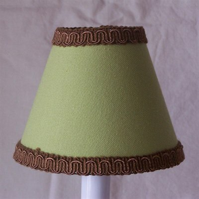 Springtime 5 Fabric Empire Candelabra Shade