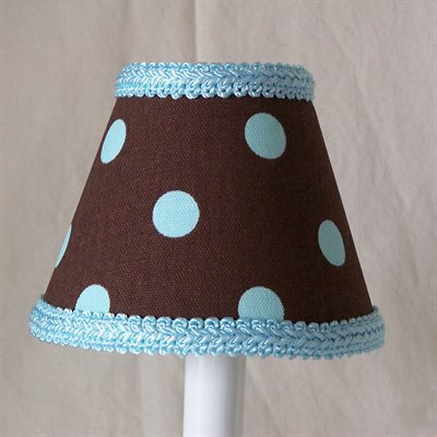 Dotty Dots 5 Fabric Empire Candelabra Shade