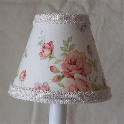 Beautiful Buds 5 Fabric Empire Candelabra Shade