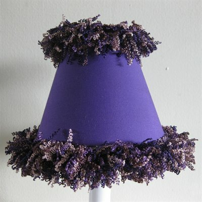 Pop Star Purple 11 Fabric Empire Lamp Shade