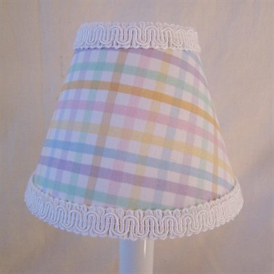 Purely Plaid 5 Fabric Empire Candelabra Shade
