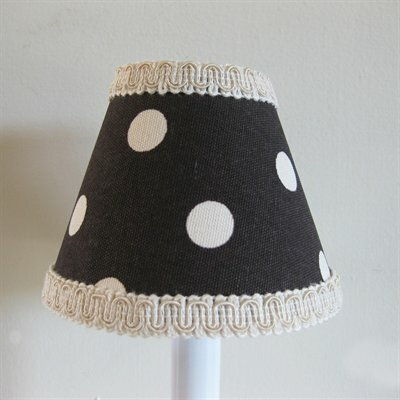 Naturally Nice 5 Fabric Empire Candelabra Shade