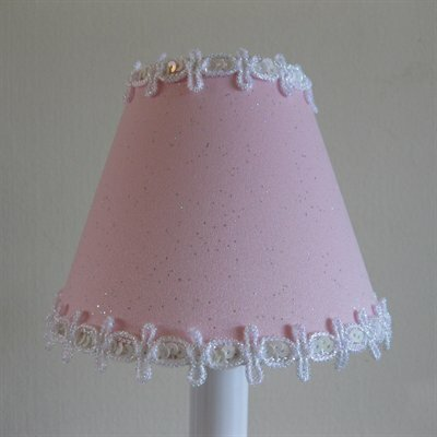Pixie Wish 11 Fabric Empire Lamp Shade Color: Pink