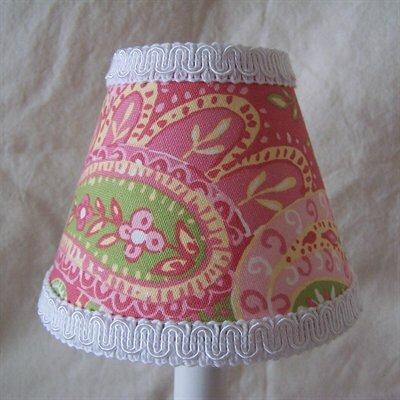 Sweet Simplicity 5 Fabric Empire Candelabra Shade