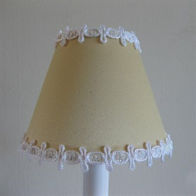Pixie Wish 11 Fabric Empire Lamp Shade Color: Yellow