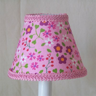 Blooming Beauties 11 Fabric Empire Lamp Shade