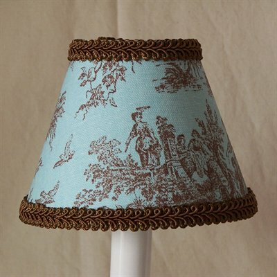 Jamestown 5 Fabric Empire Candelabra Shade