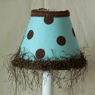 Spotty Dotty 5 Fabric Empire Candelabra Shade