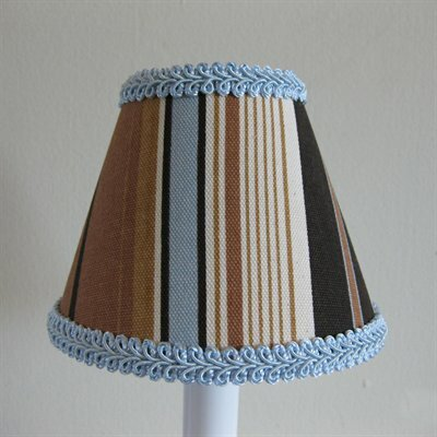 Gone Muddin 11 Fabric Empire Lamp Shade
