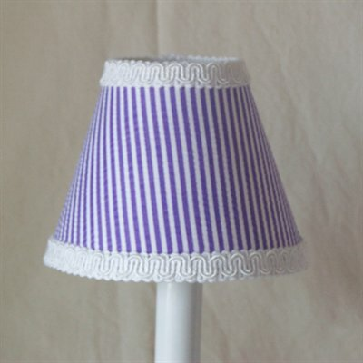 Its Good To Be Grape 5 Fabric Empire Candelabra Shade