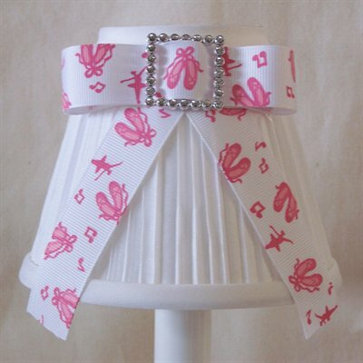 Point Your Toes 5 Fabric Empire Candelabra Shade