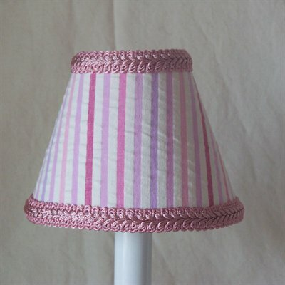 Merry-Go-Round 5 Fabric Empire Candelabra Shade