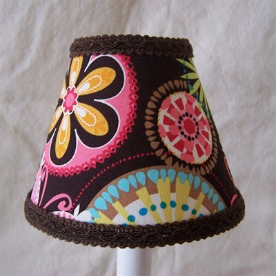 Sunburst 5 Fabric Empire Candelabra Shade