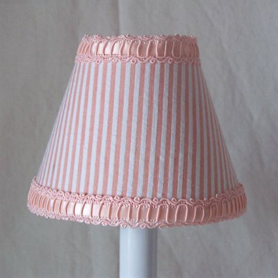 Peaches N Cream 5 Fabric Empire Candelabra Shade