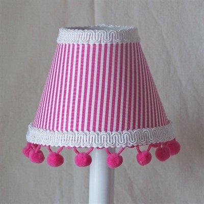 Party Pink Stripe Night Light