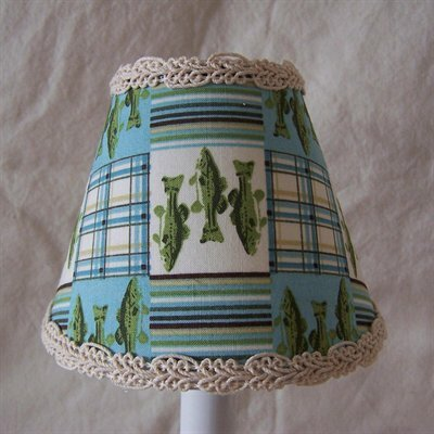 Reel It In 5 Fabric Empire Candelabra Shade