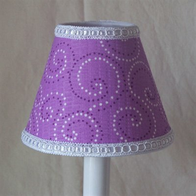 Butterfly Dust 11 Fabric Empire Lamp Shade