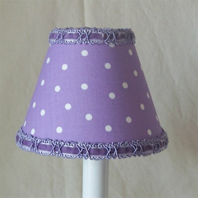 Fun Dot 5 Fabric Empire Candelabra Shade
