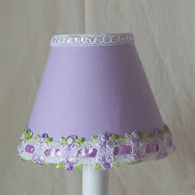 Venise Lace 5 Fabric Empire Candelabra Shade