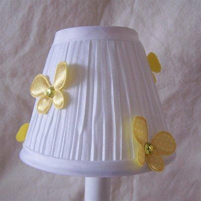 Fluttering Butterflies 5 Fabric Empire Candelabra Shade Color: Yellow