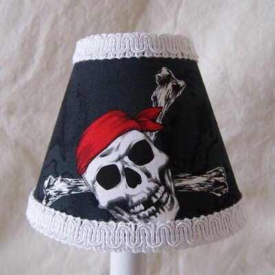 Pirates Code 5 Fabric Empire Candelabra Shade