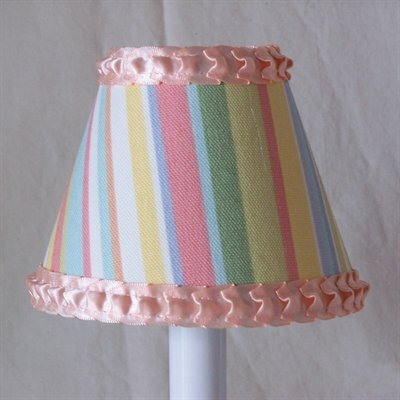 Watercolor Palette 5 Fabric Empire Candelabra Shade
