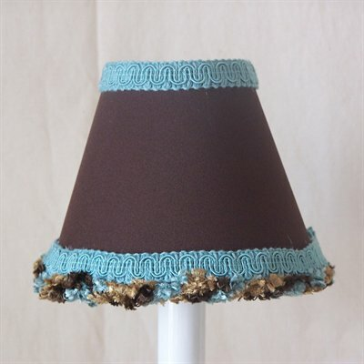Cup O Joe 5 Fabric Empire Candelabra Shade
