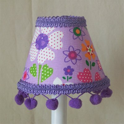 Spring Splendor 5 Fabric Empire Candelabra Shade