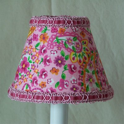 Floral Made Fun 11 Fabric Empire Lamp Shade