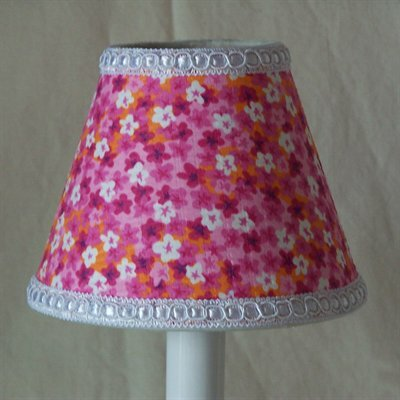 Floral In The Sun 11 Fabric Empire Lamp Shade