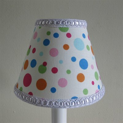 Bubblicious Dots 11 Fabric Empire Lamp Shade