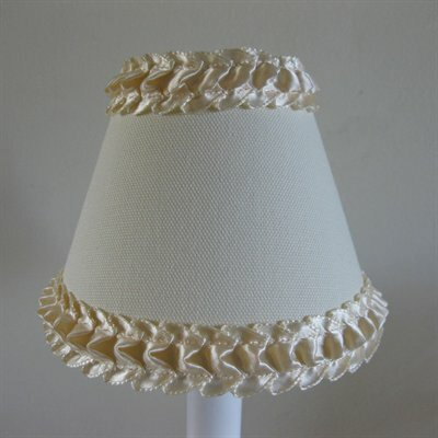 Tapioca Pudding 5 Fabric Empire Candelabra Shade
