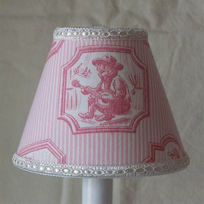 Braemore 5 Fabric Empire Candelabra Shade