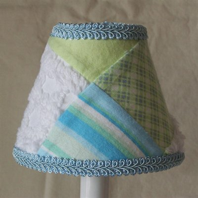 Grandmas Quilt 11 Fabric Empire Lamp Shade