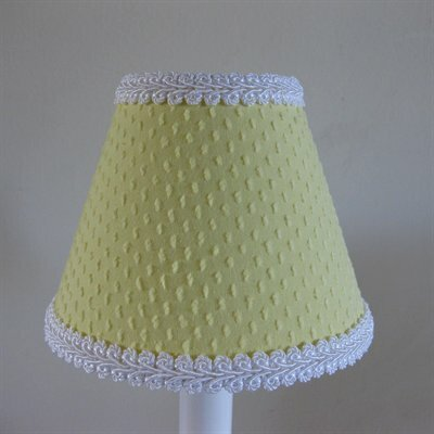 Teeny Chenille 5 Fabric Empire Candelabra Shade Color: Yellow