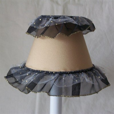 Diva Ballerina 5 Fabric Empire Candelabra Shade